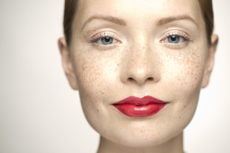 In totale su pigmentazione di pelle