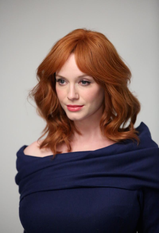Christina Hendricks: copia i capelli rossi e lo stile dell ... Christina Hendricks