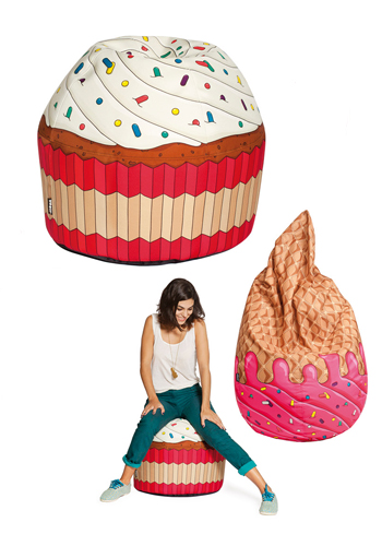 macarons, cupcake e gelati bijoux