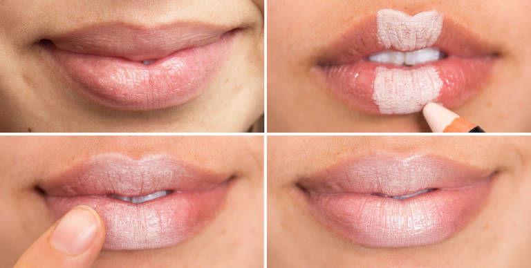 Как сделать нижнюю губу пухлее