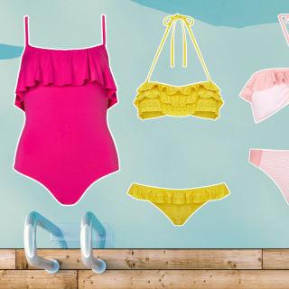 Nella natura rigogliosa del madagascar sbocciano i costumi fioriti - Costumi da piscina ...