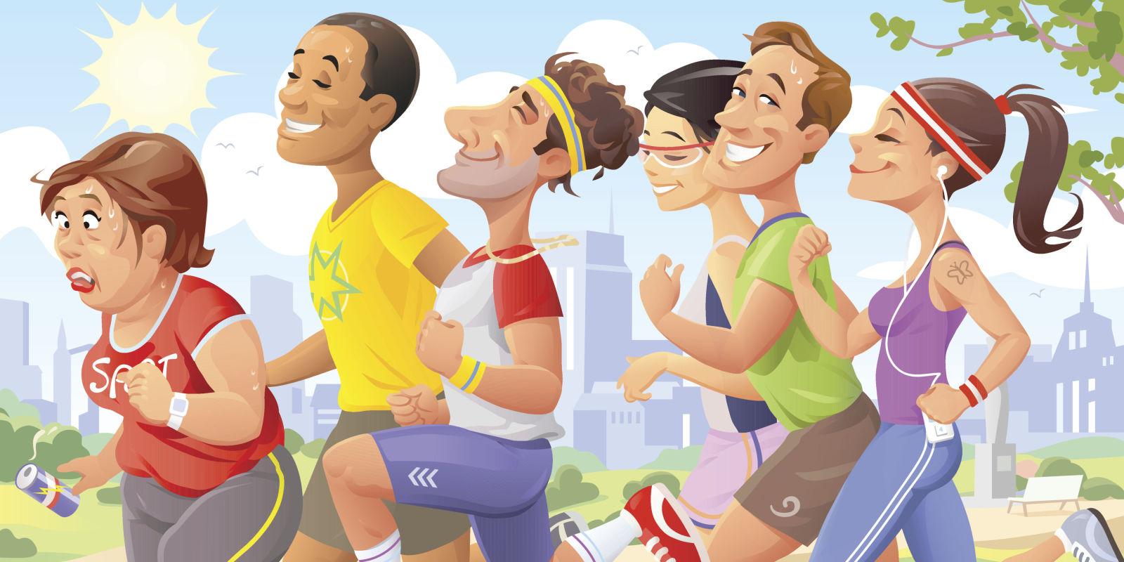 Allenamento running 10 tipi di runner che incrocio spesso for Kamasutra in movimento