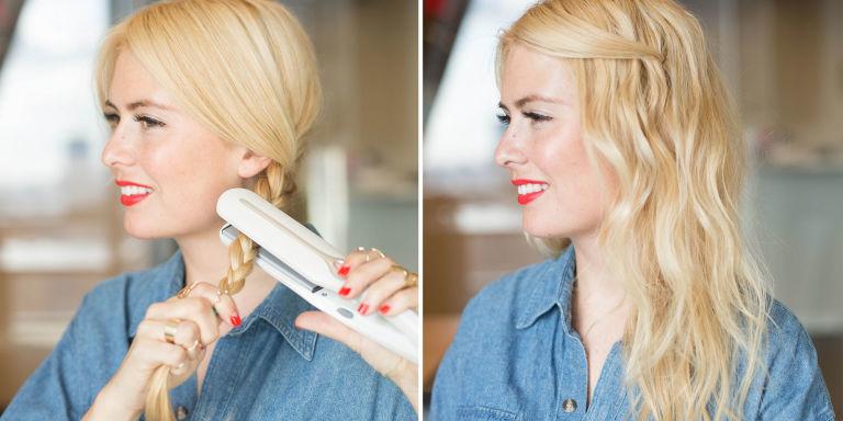 6 modi per fare i capelli mossi con una piastra per for Piastra per capelli mossi