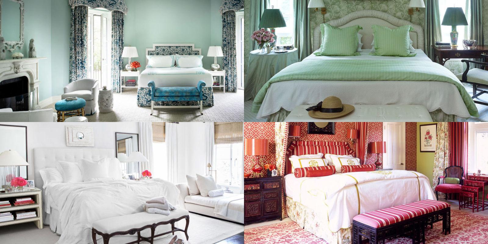 Cosa dice di te il colore della tua camera da letto - Colore della camera da letto ...