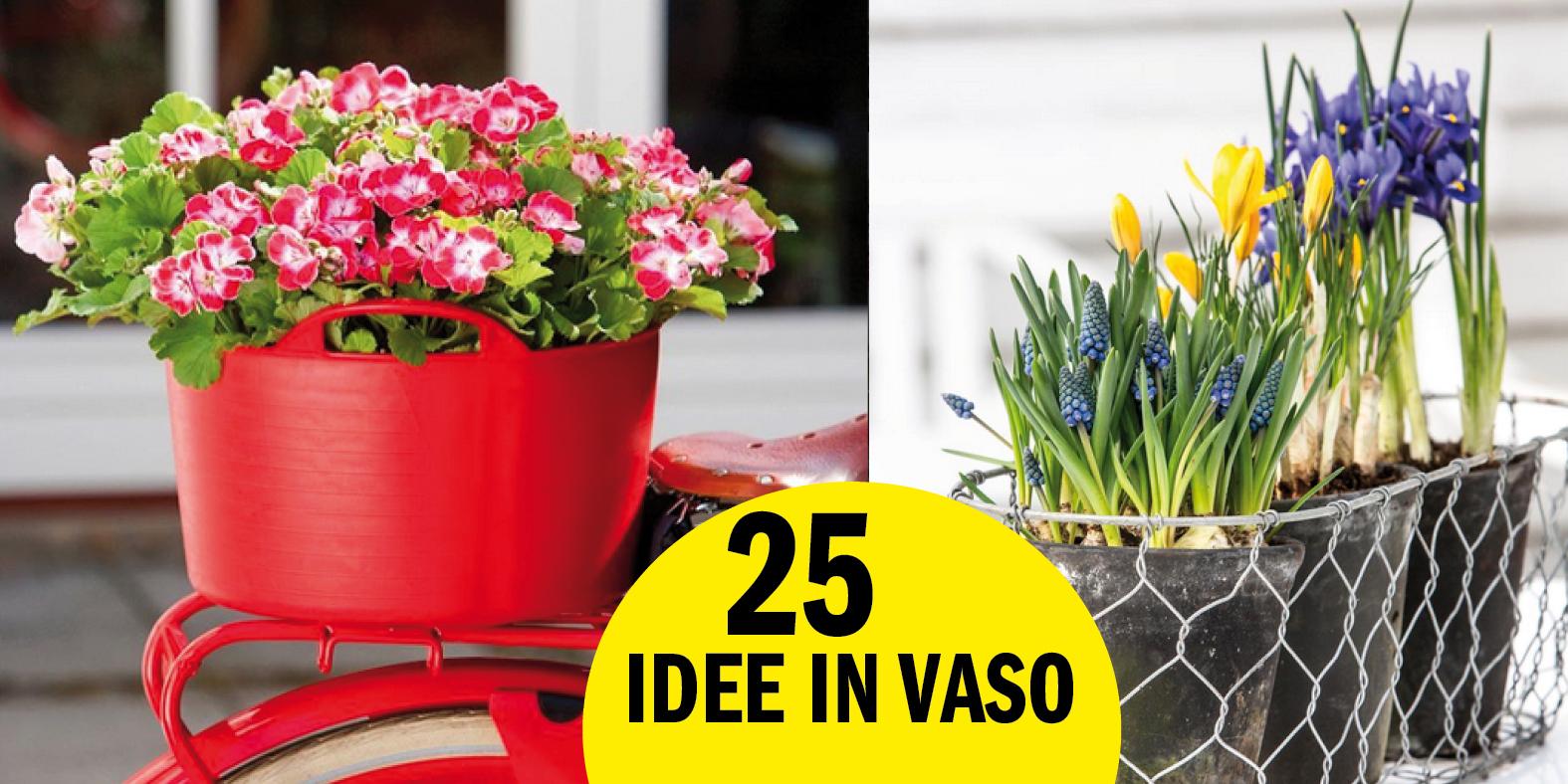 Vasi per fiori: 25 idee creative per far esplodere il tuo balcone