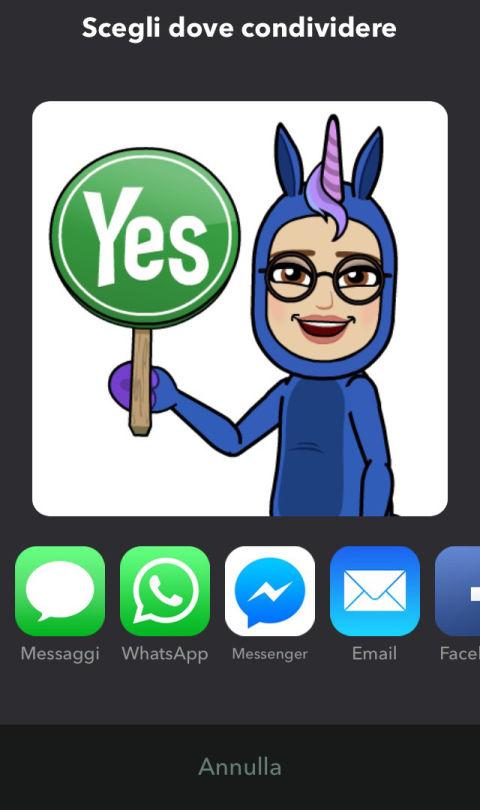 Bitmoji la app da collegare a snapchat per emoji for Crea il tuo avatar arreda le tue stanze