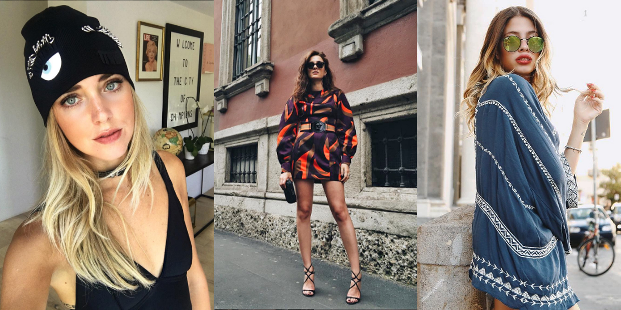 13 fashion blogger italiane che fanno tendenza da seguire sul web Fashion bloggers style tv