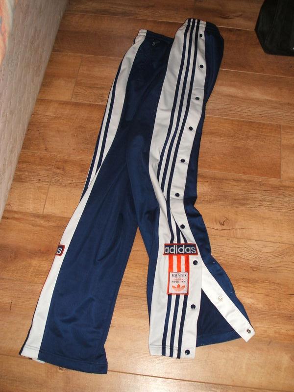 pantaloni tuta adidas bottoni laterali
