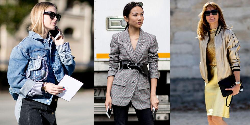 5 giacche donna dal blazer ai bomber di moda per l'inverno 2017