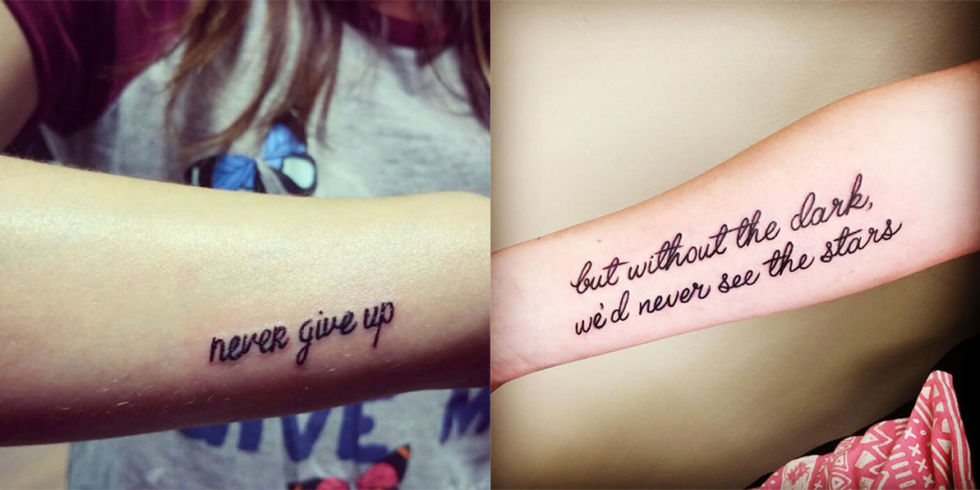 frasi belle da tatuare sulla vita
