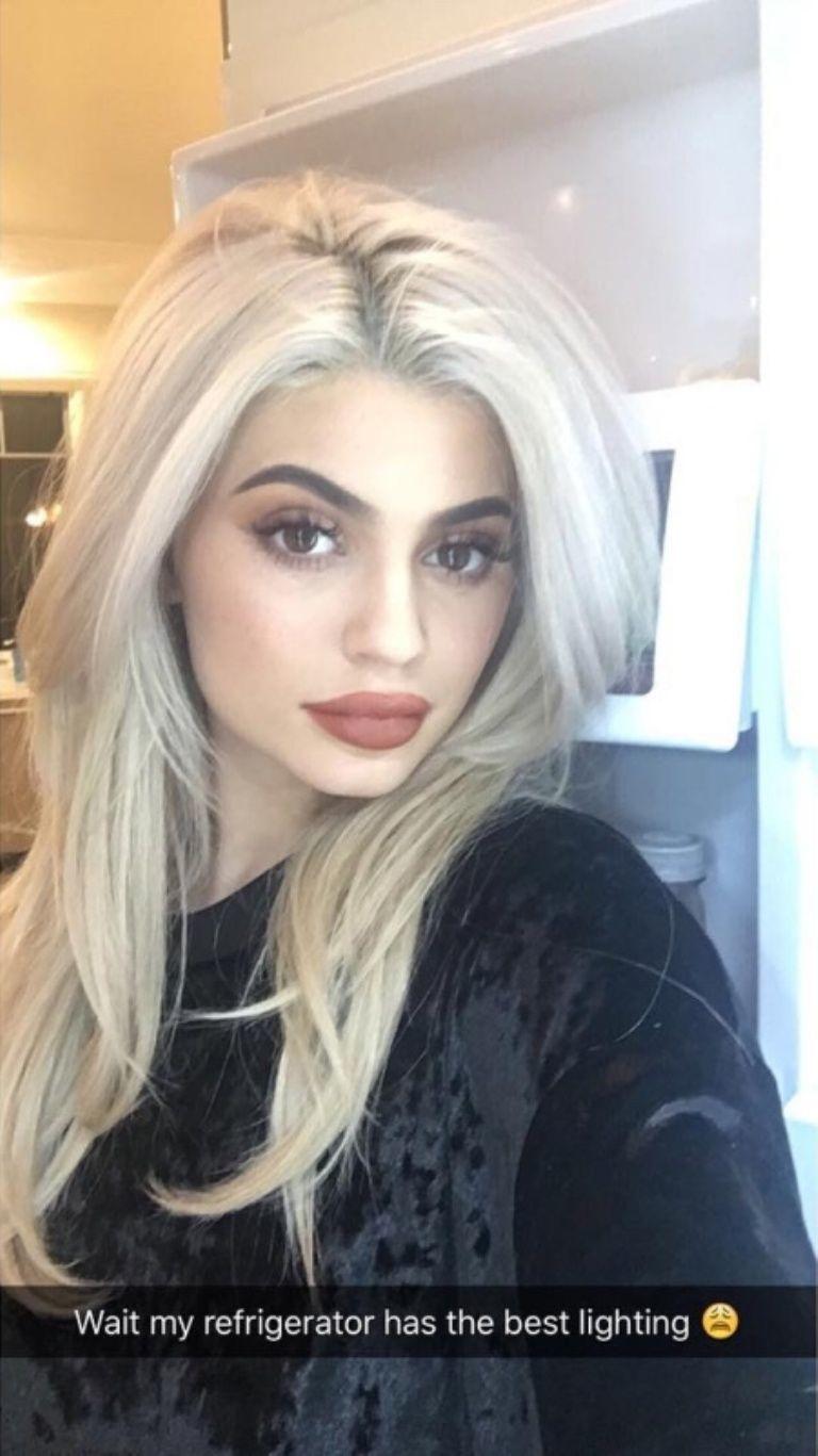 Kylie Jenner su SnapChat