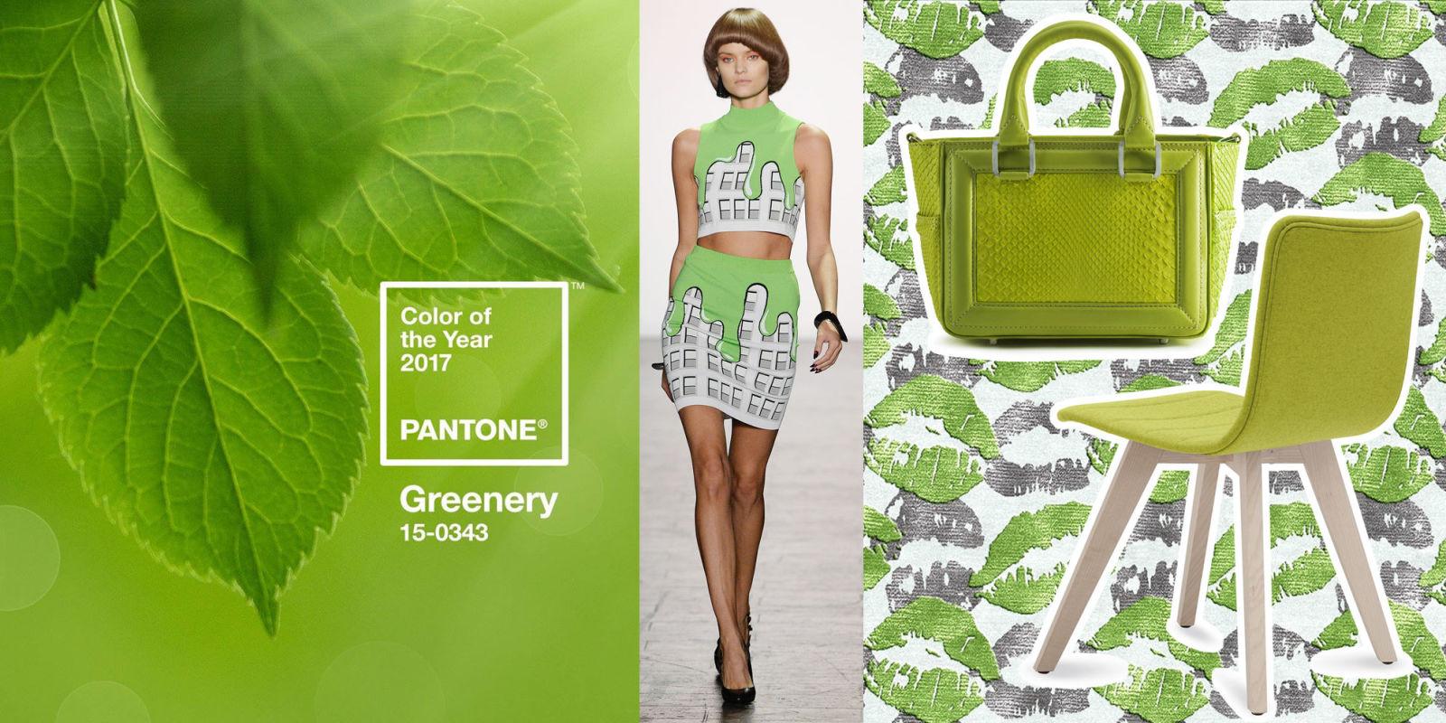 12 modi cool per usare e indossare greenery il colore for Verde pantone 2017