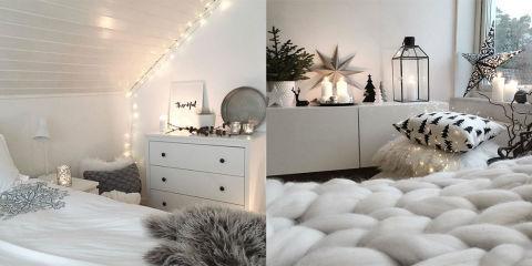 La tendenza lucine trasforma la tua camera in un posto da sogno - Lucine camera da letto ...