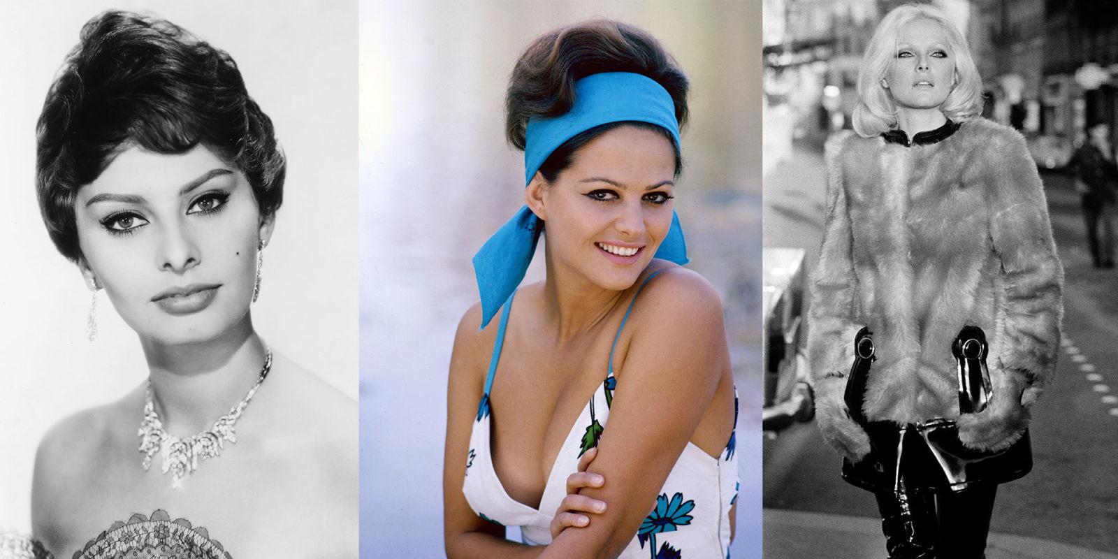 Le 9 attrici italiane che hanno avuto successo a hollywood - Dive anni 60 ...