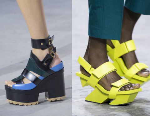 12 abbinamenti facili con scarpe strane di moda primavera for Issey miyake scarpe