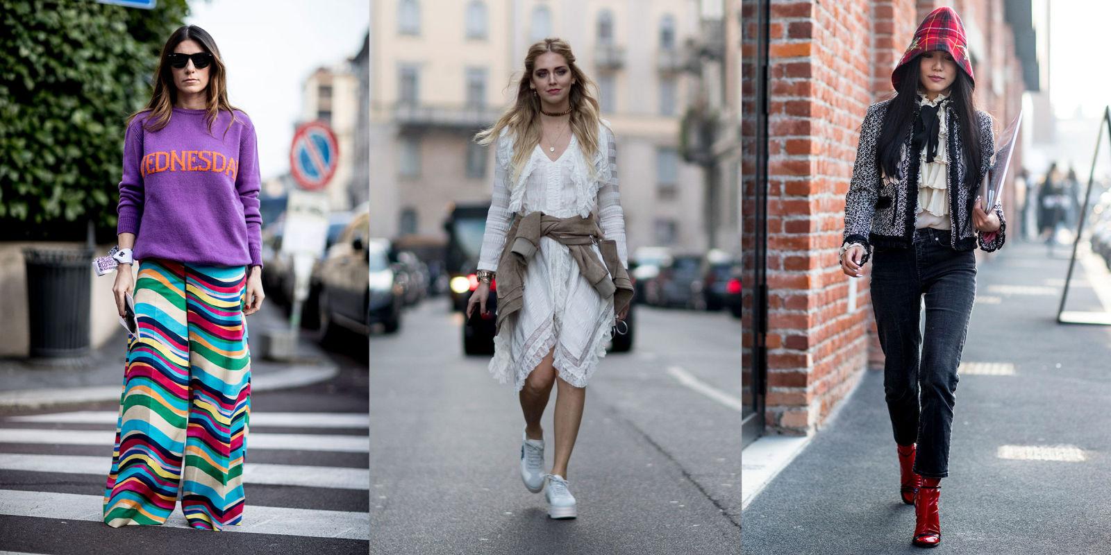 Moda autunno inverno 2017 idee dallo street style di milano for Mode milano