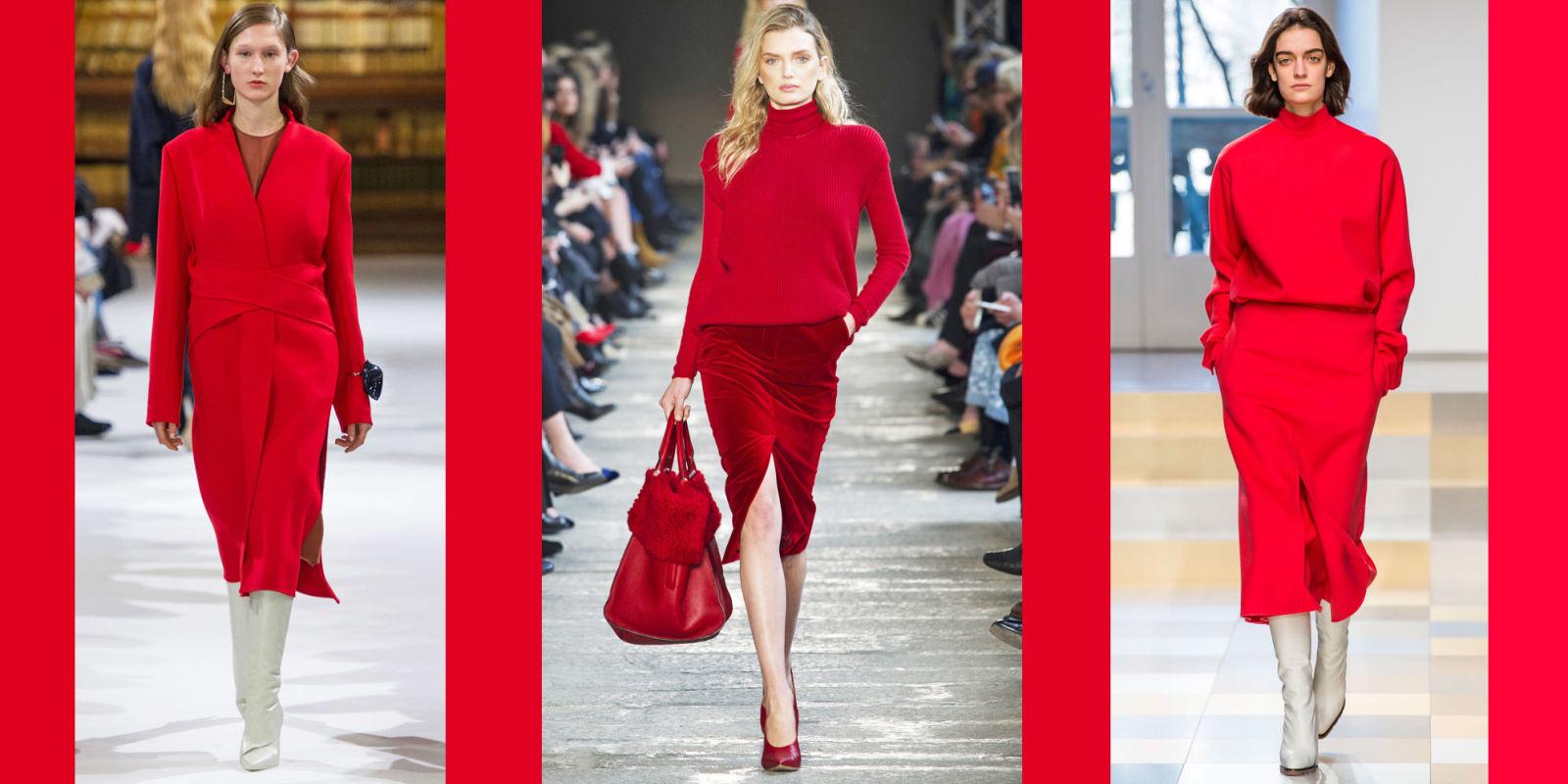 Tendenze autunno inverno 2017 il colore rosso la - Colori per la casa 2017 ...