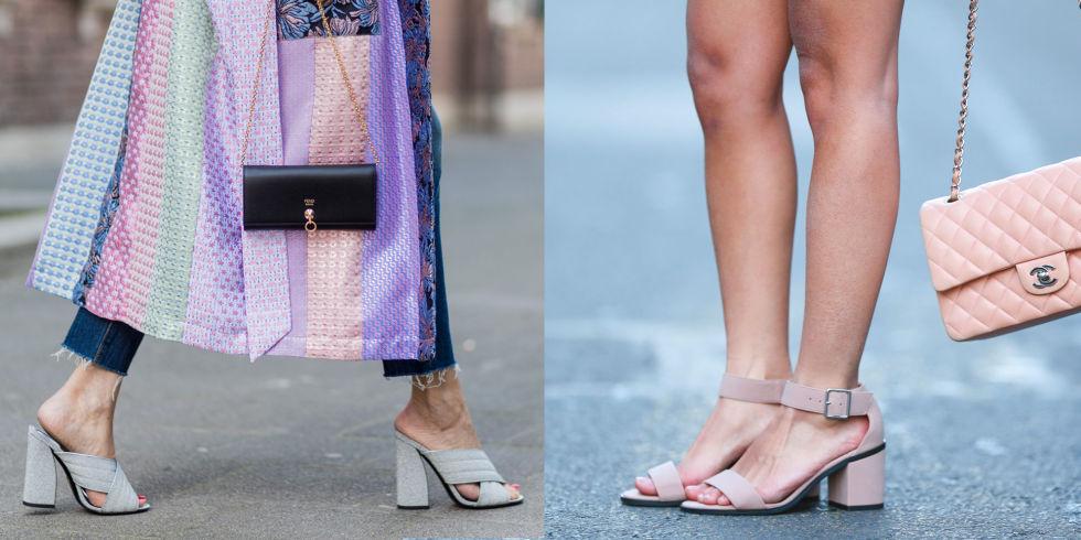 7ba8662395 10 modelli di scarpe e sandali con tacco basso e largo per la tua ...
