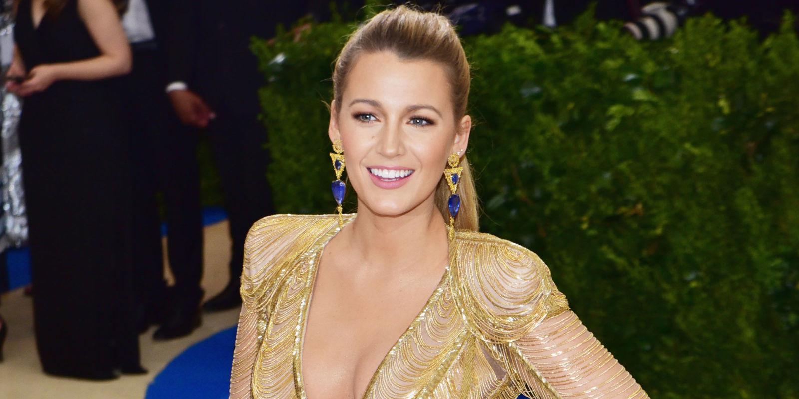 Blake Lively al Met Gala aveva un abito da uccello del ...