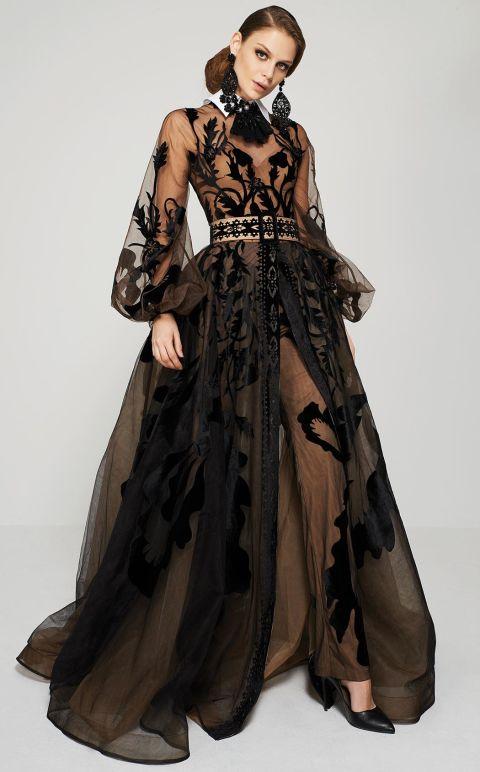 hot sale online 59f91 cc0ae Neri Da » Vestiti Lunghi Eleganti Yfgv6yb7