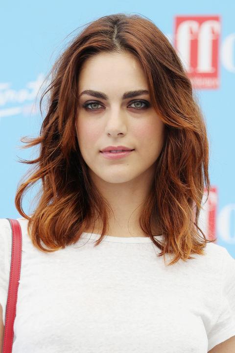 Miriam Leone è la regina dei capelli disinvolti. Prendi ...