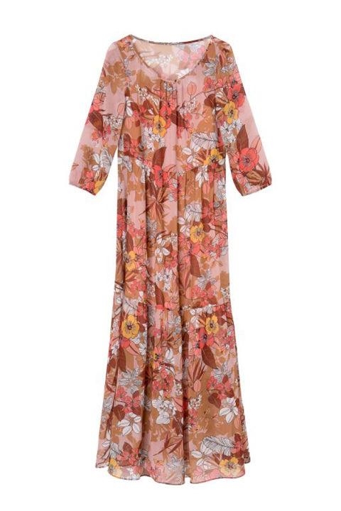 21 vestiti lunghissimi eleganti moda estate 2017 for Vestiti etnici