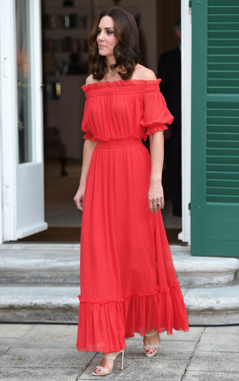 Vestito rosso di kate middleton